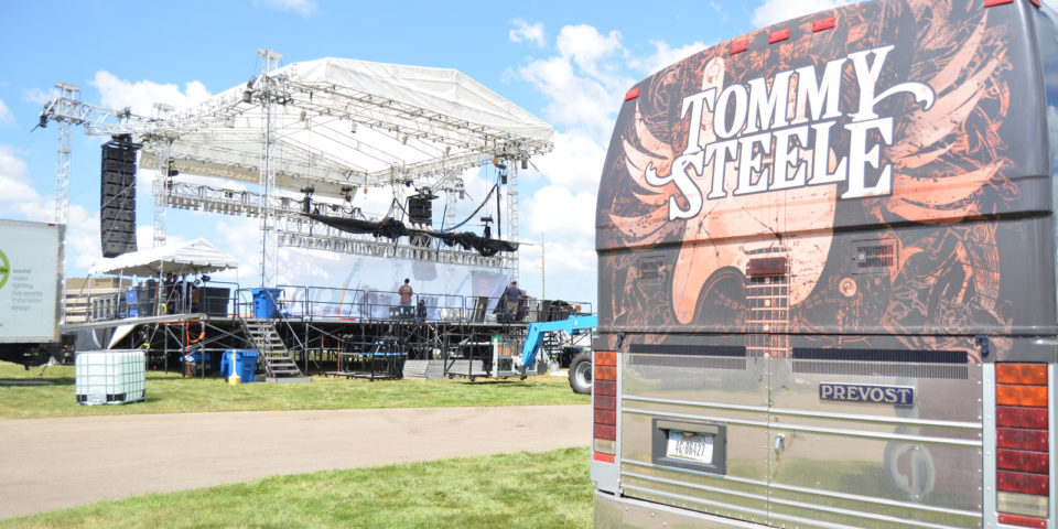 Tommy Steele Band Bus Decal